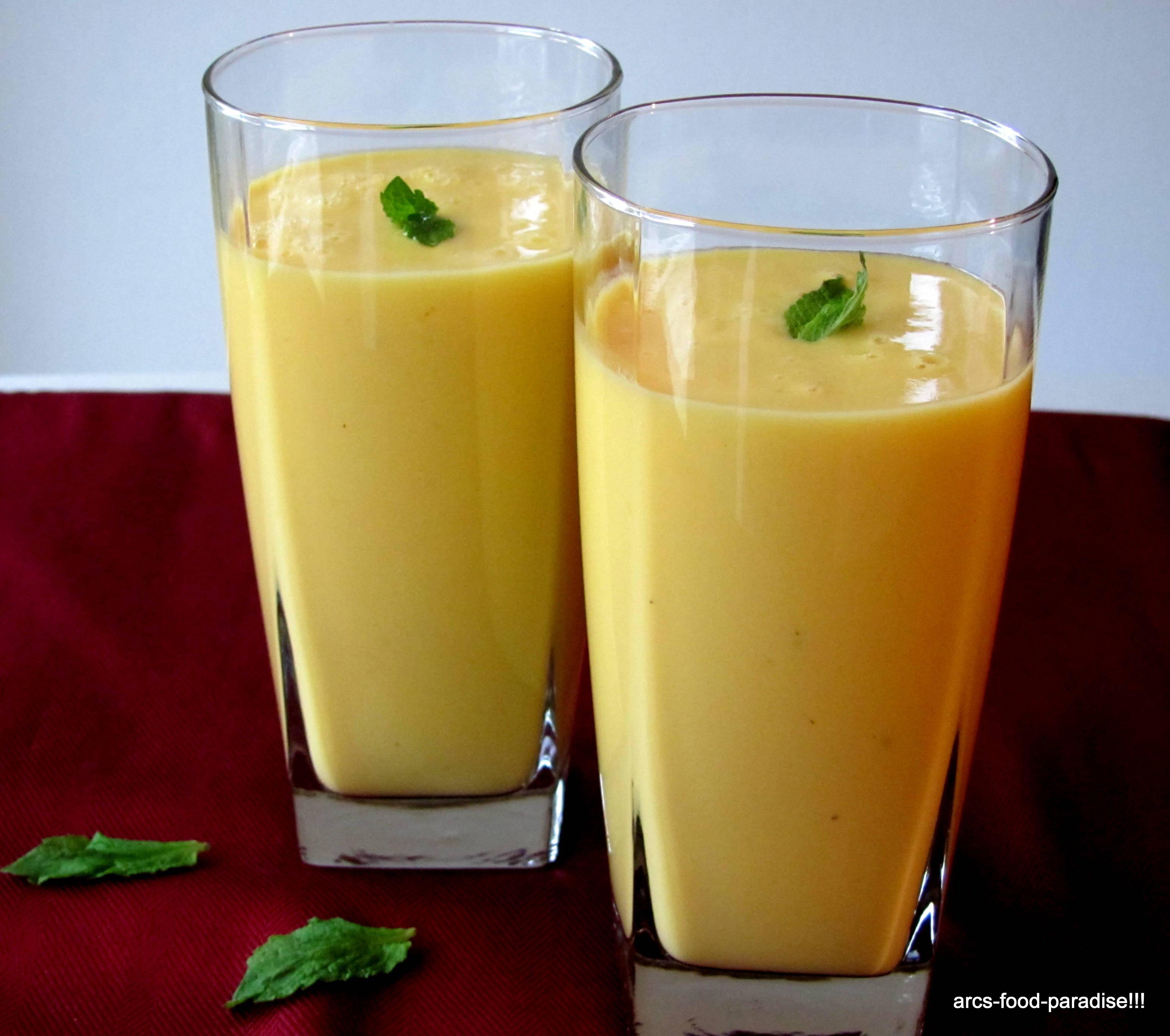 Mango Lassi | The Flavor Nook!