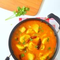 Chamagadda Pulusu - Taro Root Stew