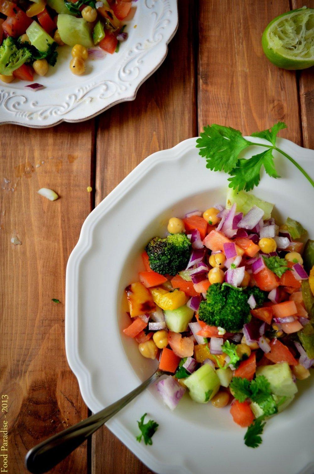Chickpea-Garden-Salad