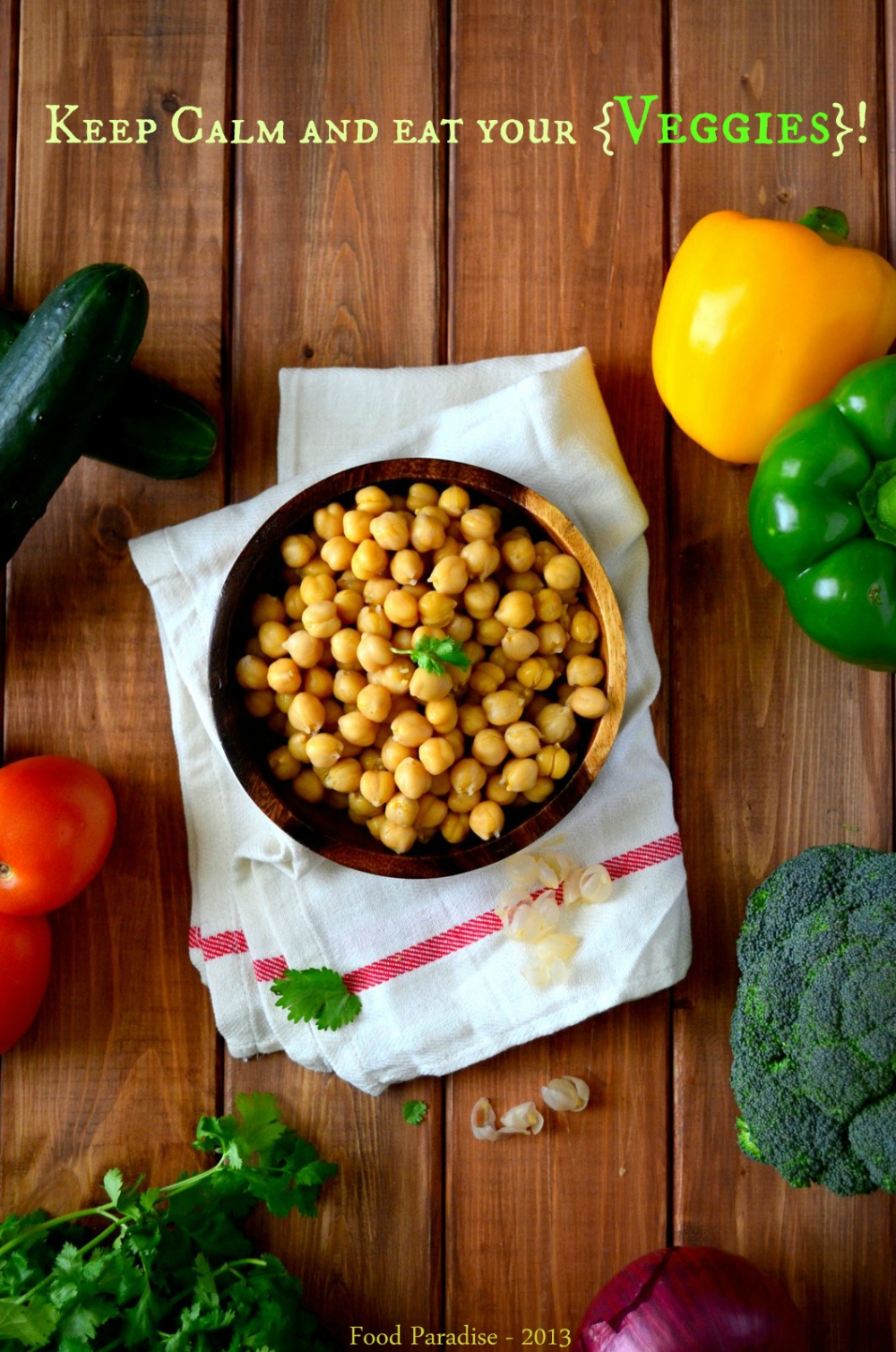 Chickpeas and Veggies