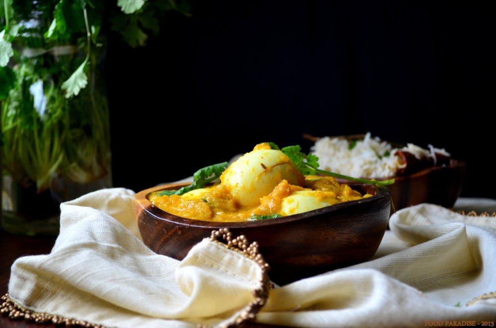 Egg Masala-Guddu Pulusu