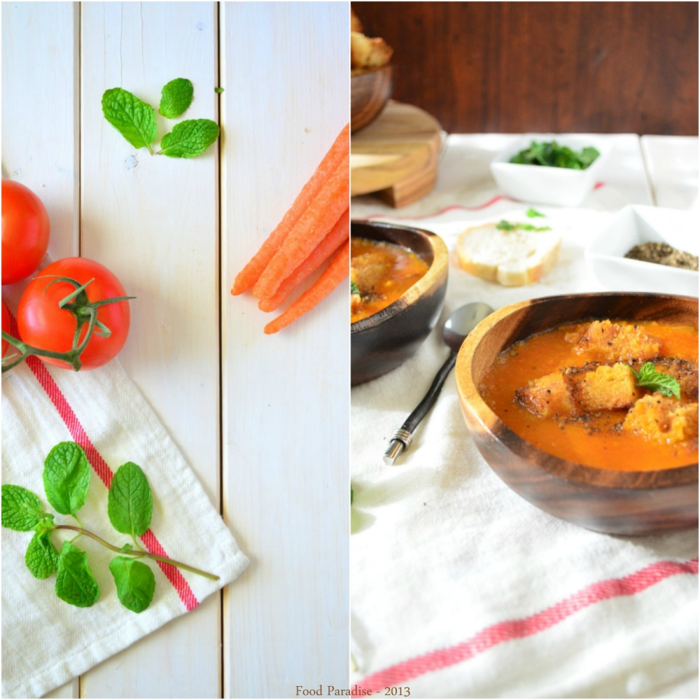 Tomato - Carrot Soup