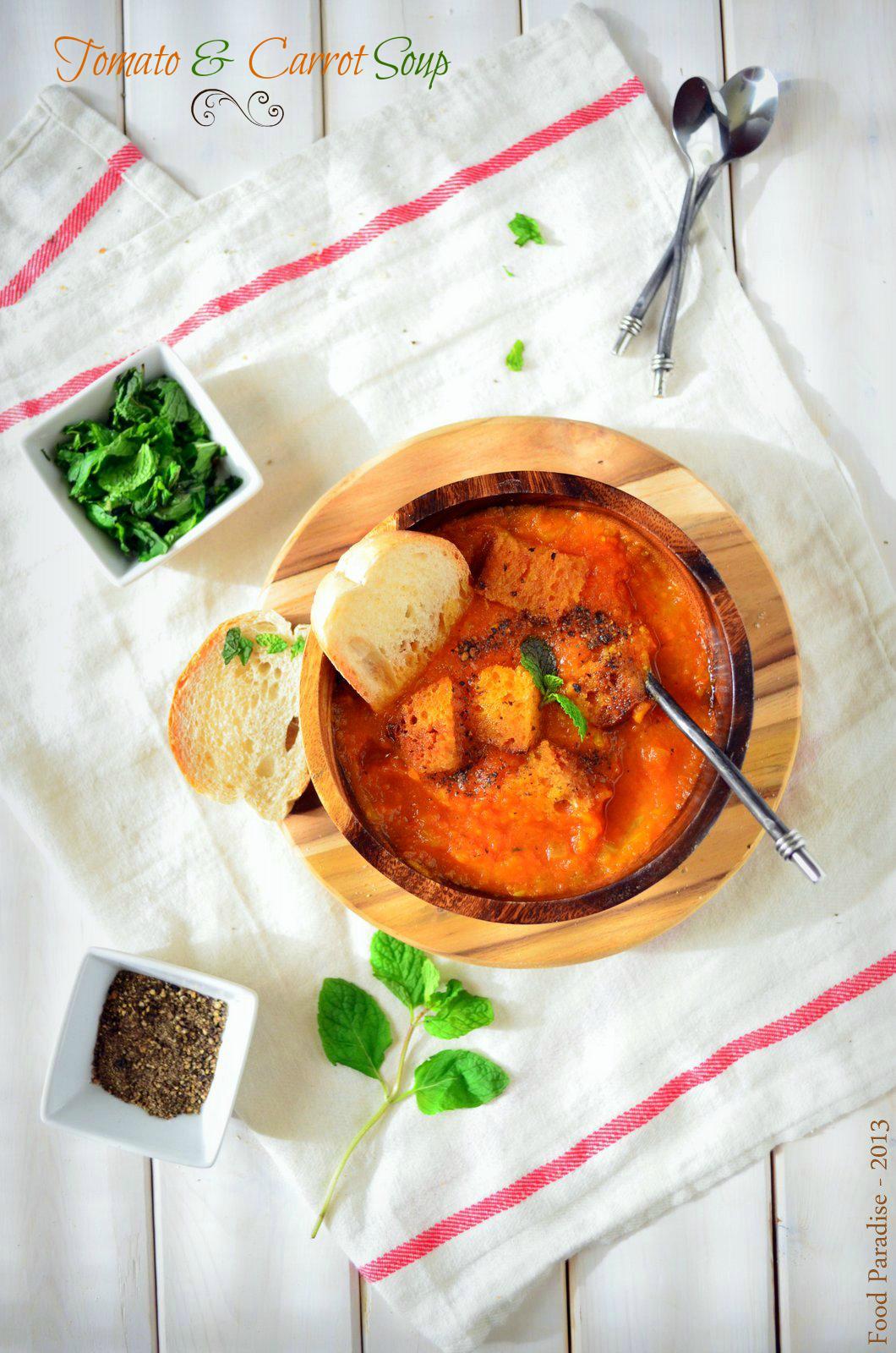 Tomato & Carrot Soup