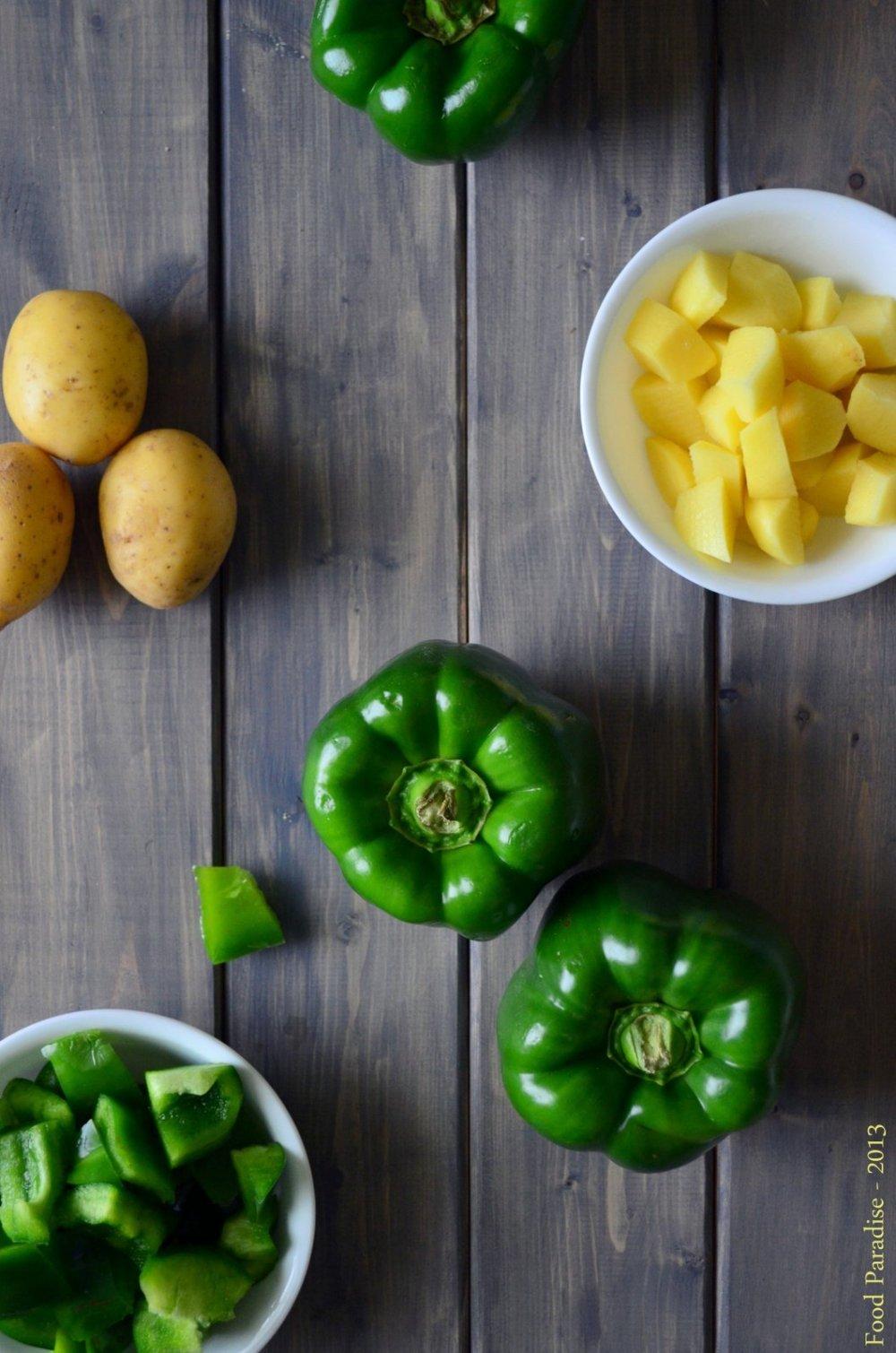 Capsicum & Potatoes