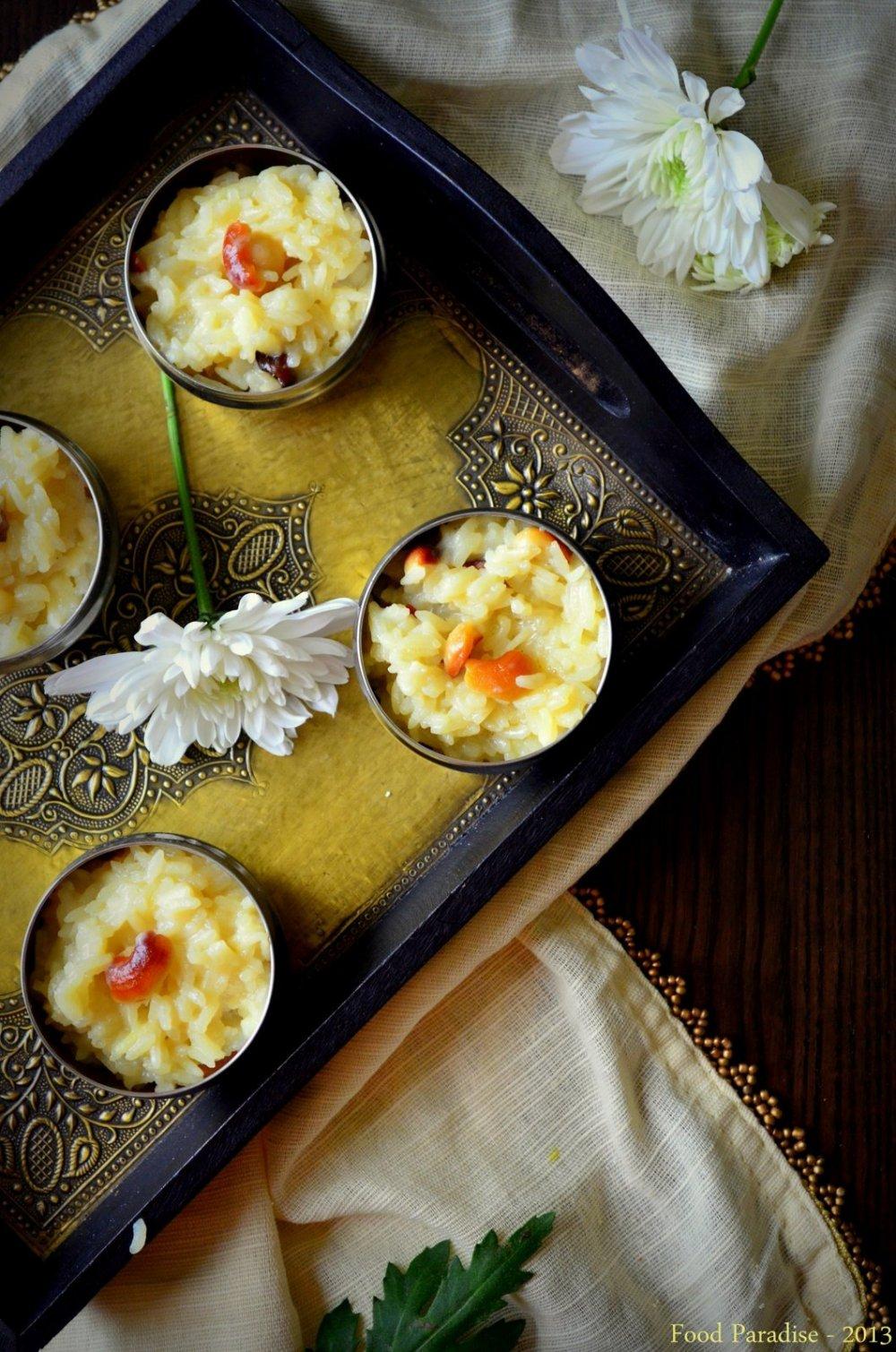 Paramannam - Jaggery Rice Pudding