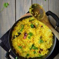 Mamidikaya Pulihora - Mango Rice