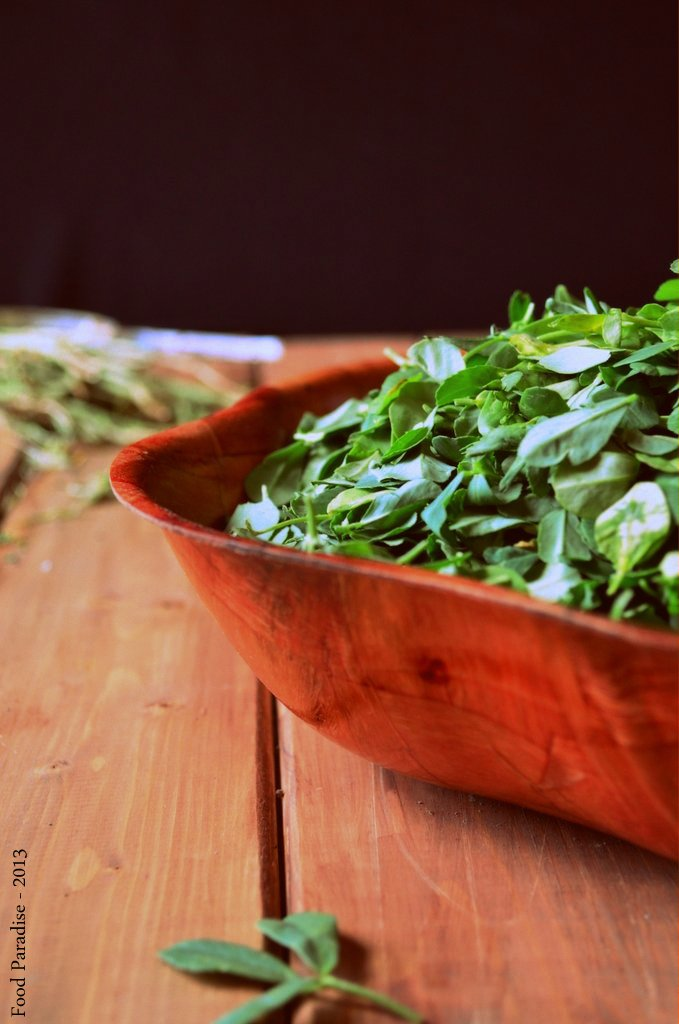 Methi-Fenugreek Leaves