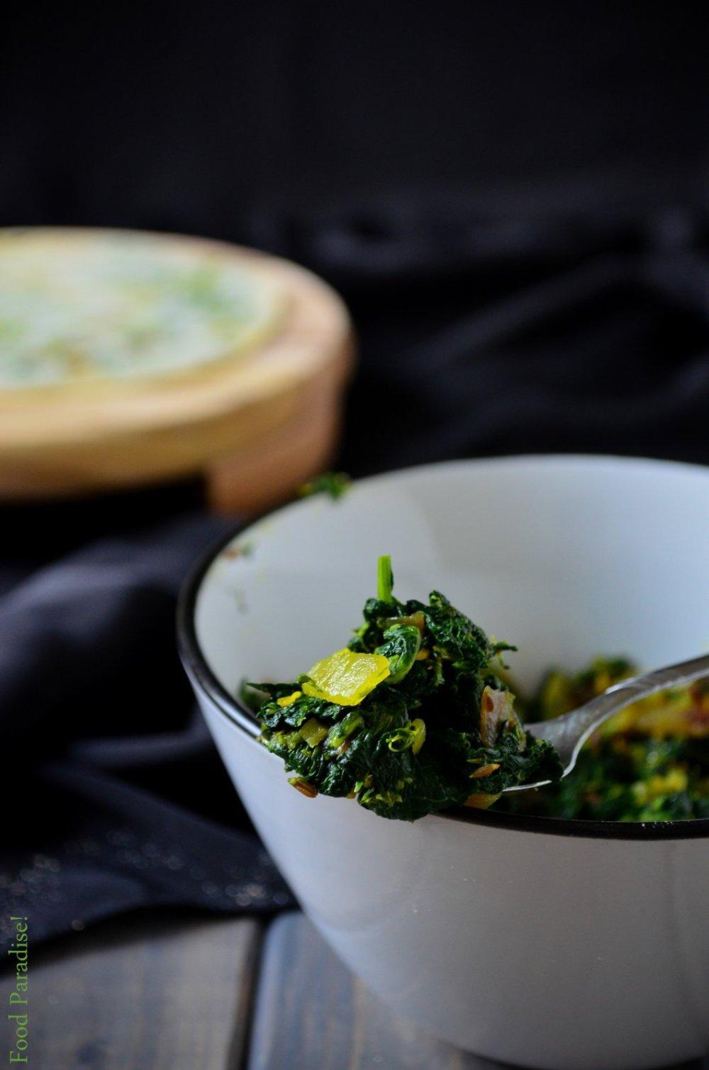 Broccoli Rabe or Rapini Stuffing