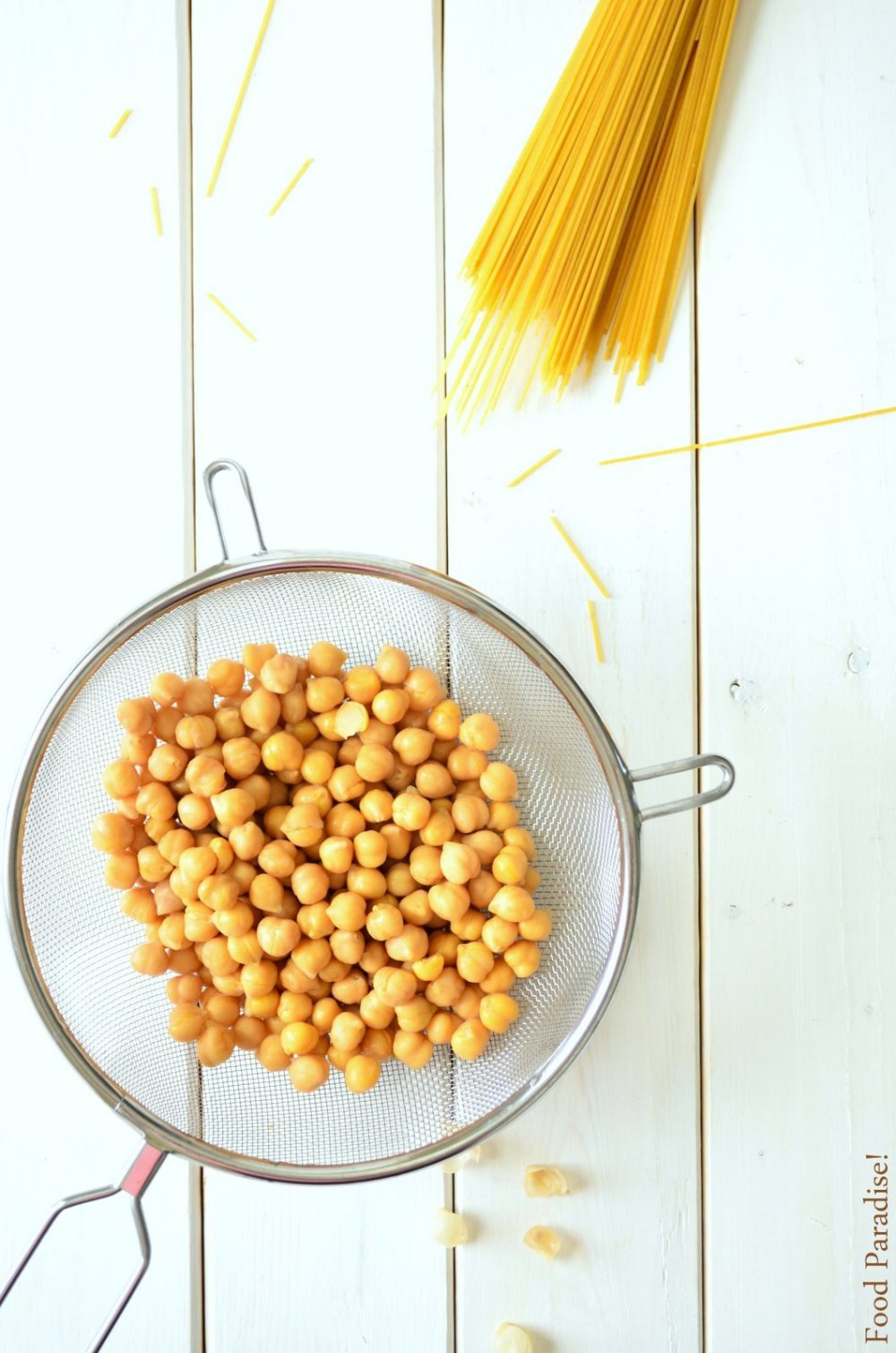 Chickpeas and Spaghetti