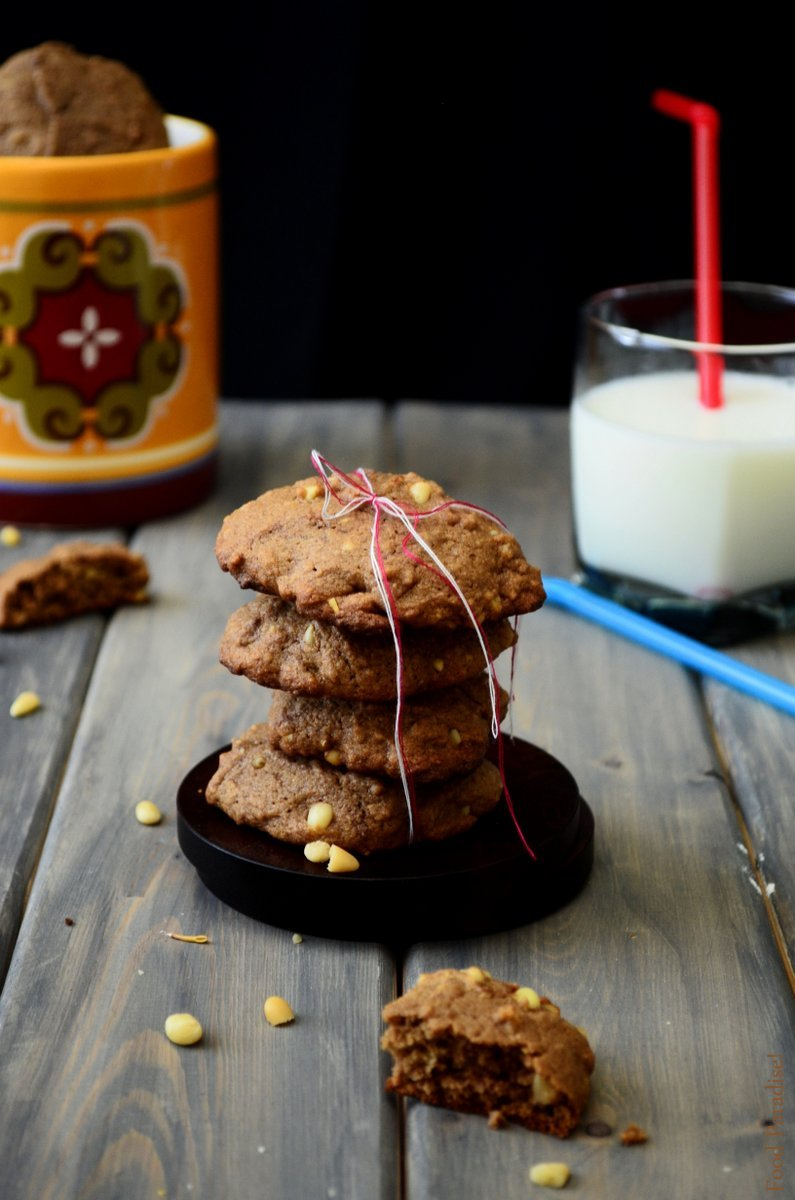 Nutella-Pine-Nut-Cookies