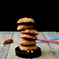 Nutella and Pine-Nut Cookies