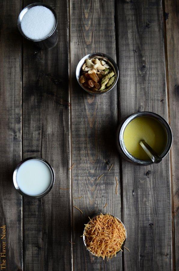 Semiya Payasam Ingredients-001