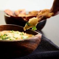 Paratha Chips and Sriracha-spiced Hummus + a Video