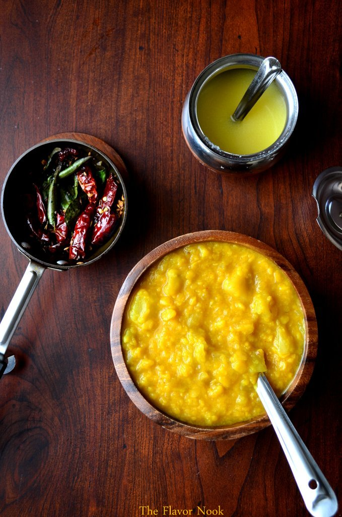 Mango Dal and Tadka