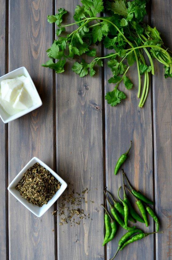 Methi Chicken Ingredients