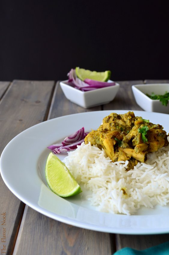 Methi (Fenugreek) Chicken