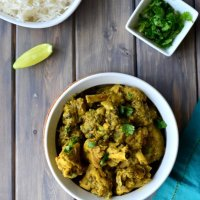 Methi Murgh - Fenugreek (Dry) Chicken