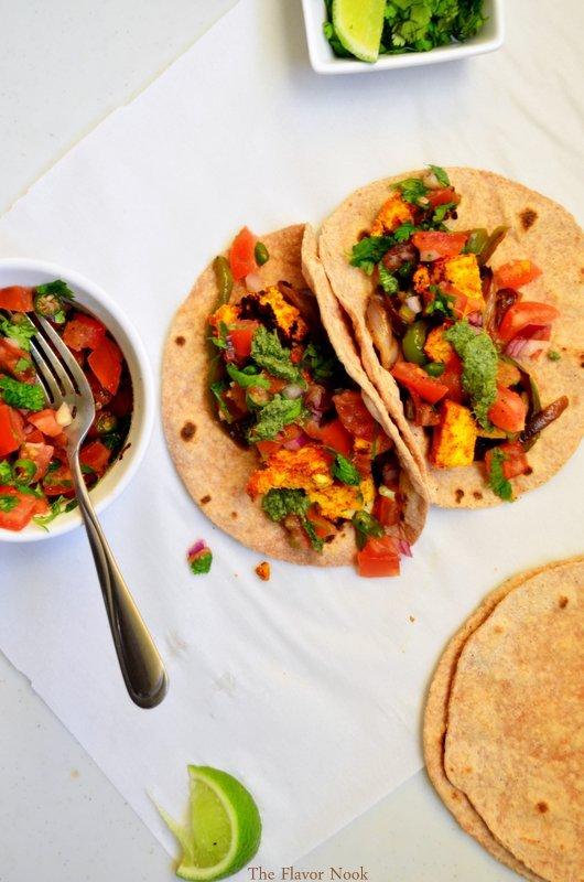 Paneer--Tacos