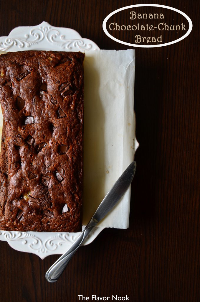 Banana-Chocolate Chunk Bread