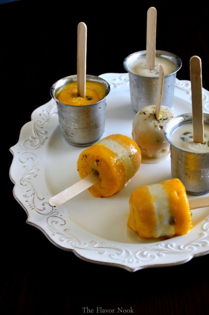 Mango & Coconut Pops