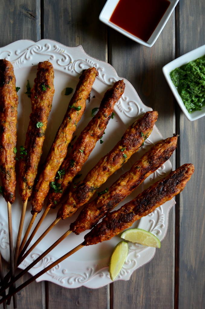Chicken-Seekh-Kebabs