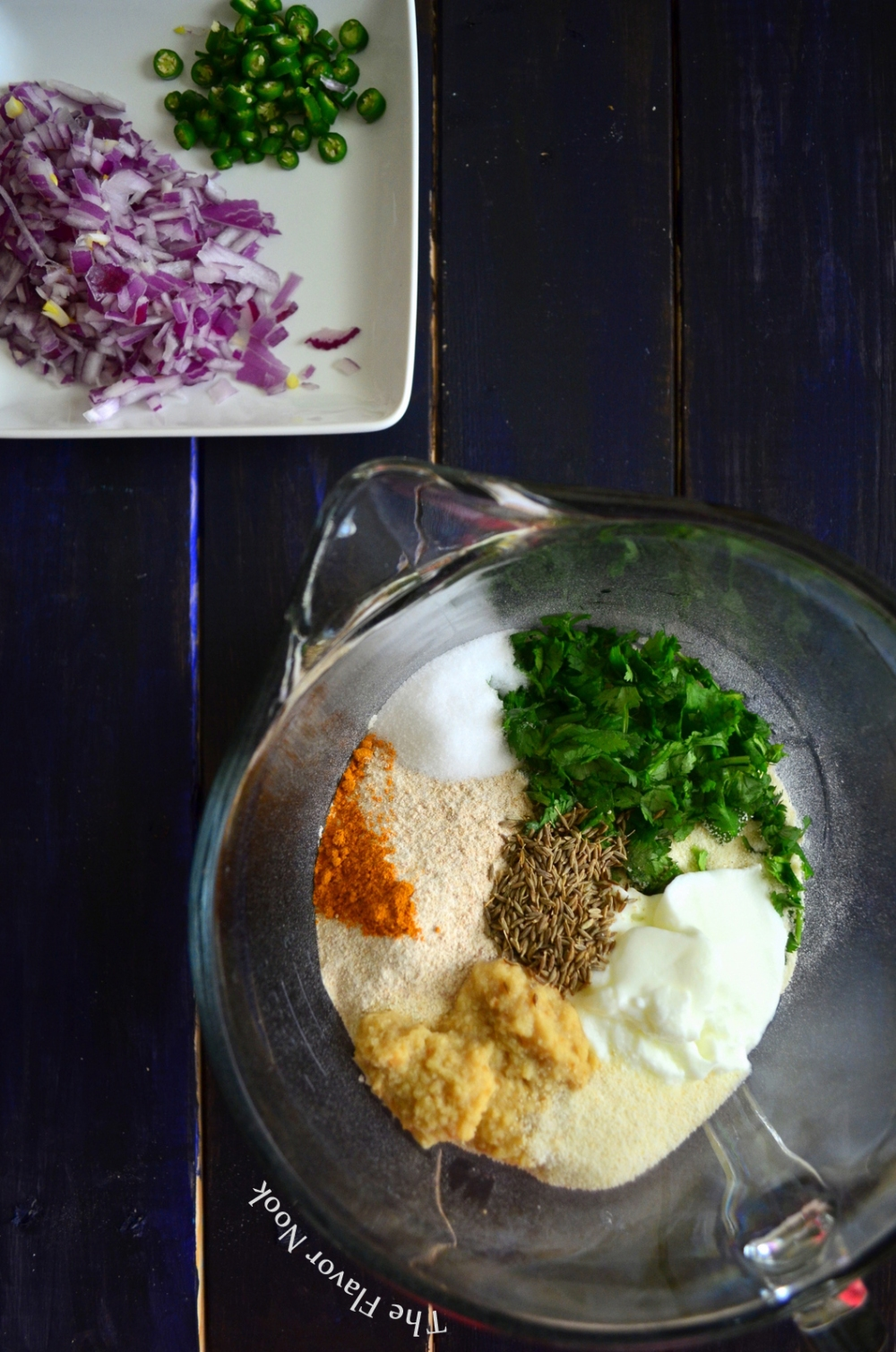 Wheat Rava Dosa Ingredients