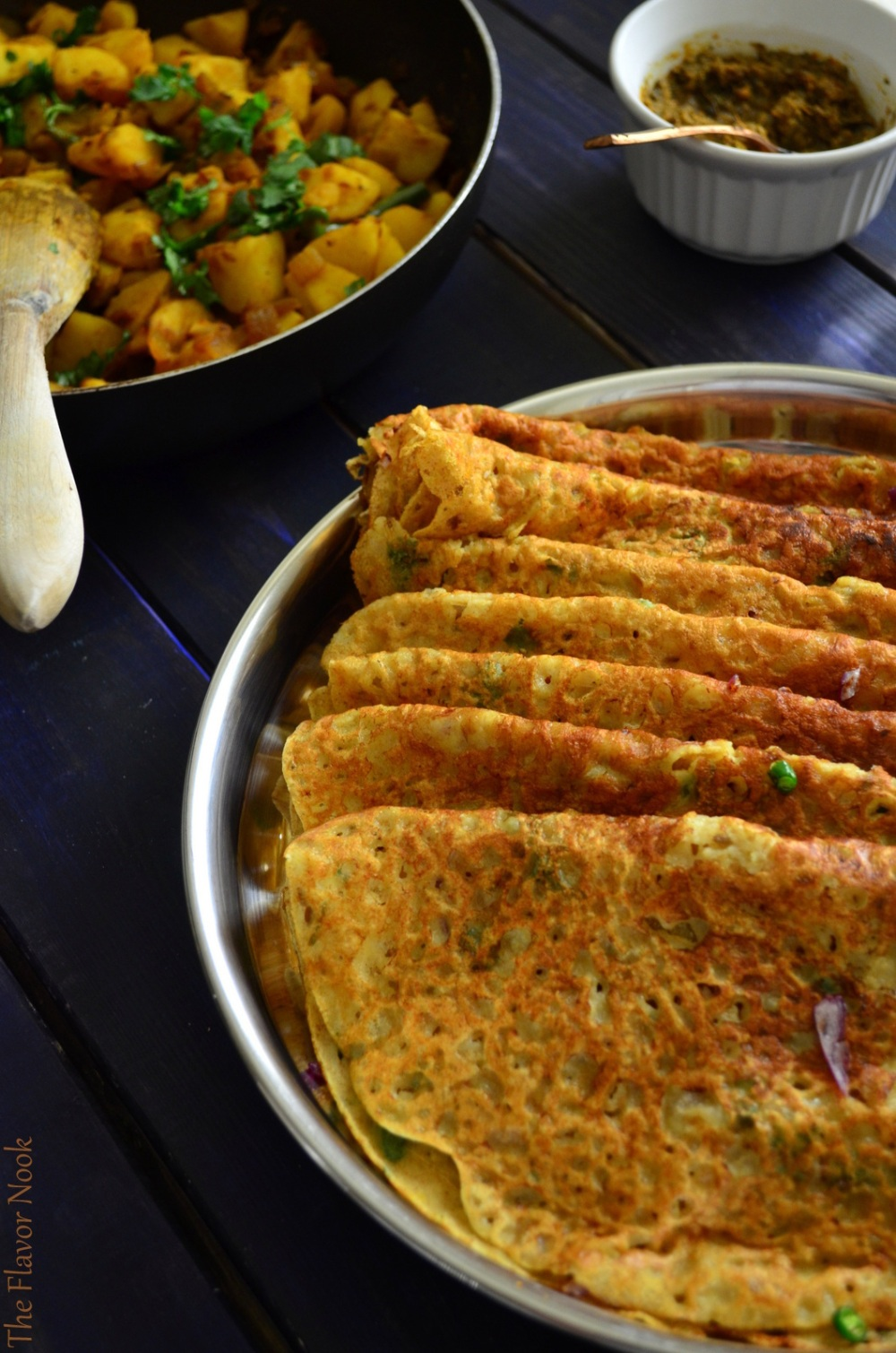 Wheat Rava Dosa