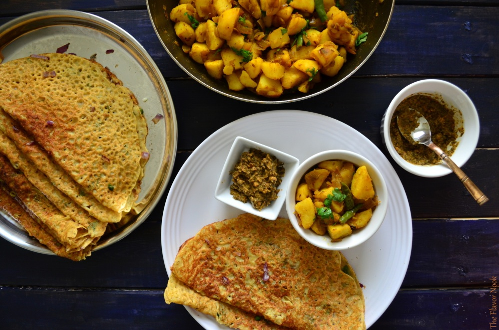 Wheat-Rava-Dosa