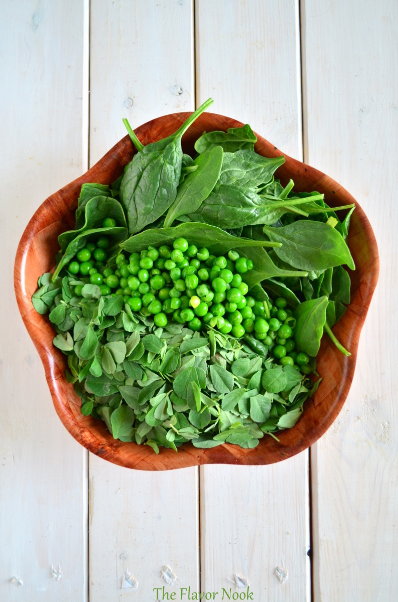 Fenugreek Peas Spinach
